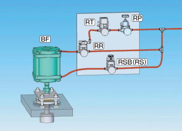 控制1个气缸电路图